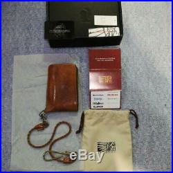 Red Moon Long Wallet REDMOON Brown From JP F/S
