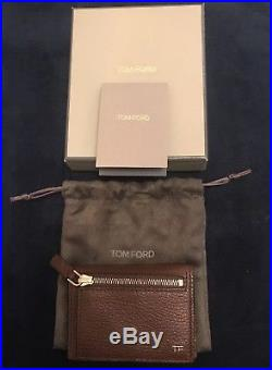 Tom Ford Grained-Leather Bifold Cardholder
