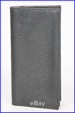 Tom Ford New $750 Black Leather Long Wallet Clutch Card Holder Made in Italy