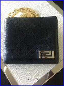 Versace Mens Leather Wallet